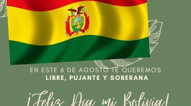 FELIZ DIA BOLIVIA